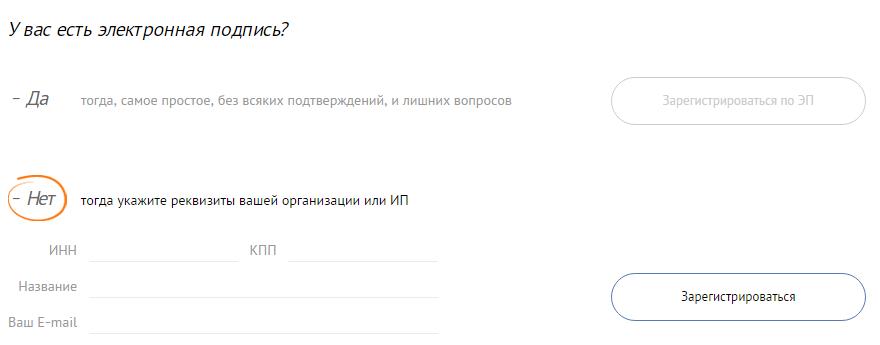 Электронная подпись СБИС