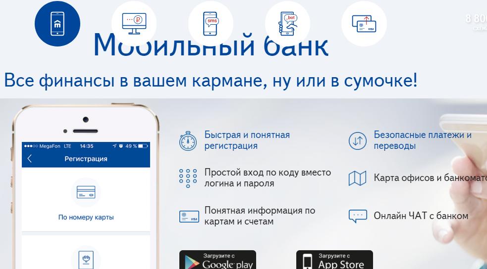 Мобильный банк Восточный Экспресс